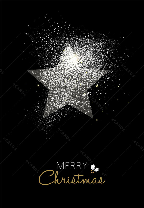 Božićno i Novogodišnje stablo u boji - čestitka GC0021