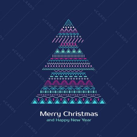 Sretan Božić in novu godinu božićna čestitka GC0093