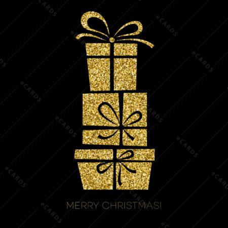 Božićna čestitka sa poklonima GC0086