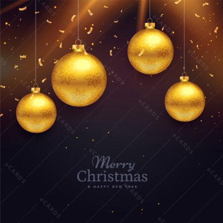 Božićna i Novogodišnja atmosfera - čestitka GC0010