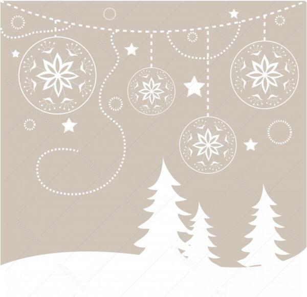Božićna pozadina - čestitka GC0009