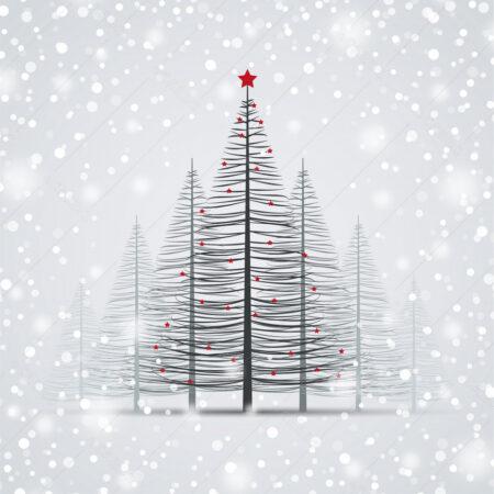 Božićna šuma e-čestitka GC0095