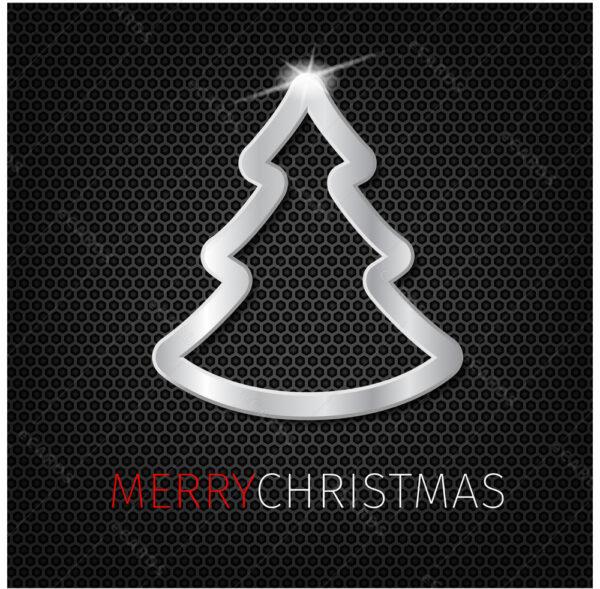 Božićni bor e-čestitka GC0079