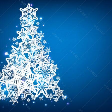 Božićno drvce pozadina - čestitka GC0004