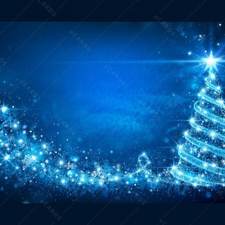 Čarobno Božićno drvo čestitka GC0045