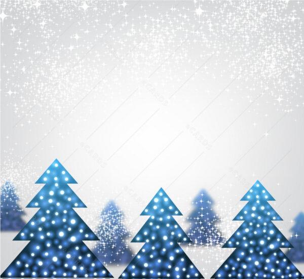 Čestitka Božićna šumska idila GC0133