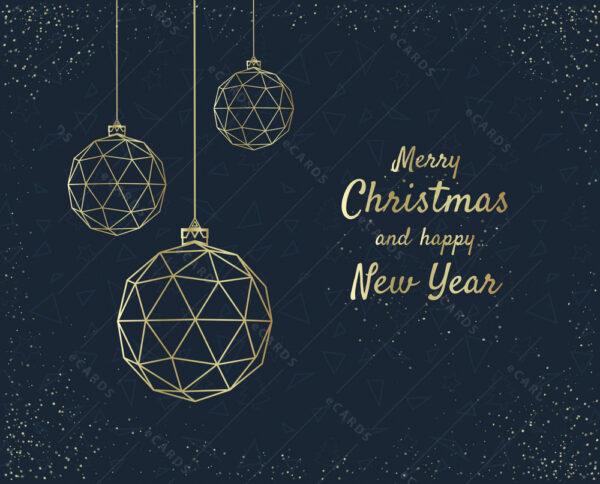Čestitka za Božić in novu godinu - GC0107