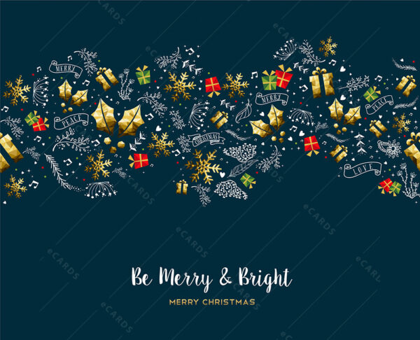 Čestitka za Božić in novu godinu GC0112