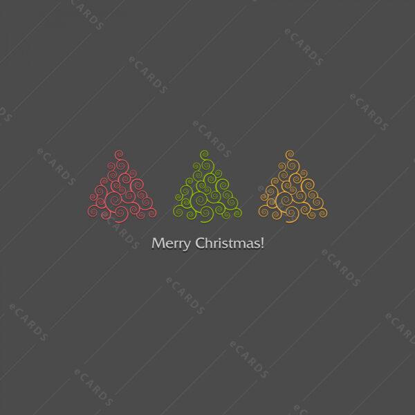 Novogodišnje božićna čestitka GC0084